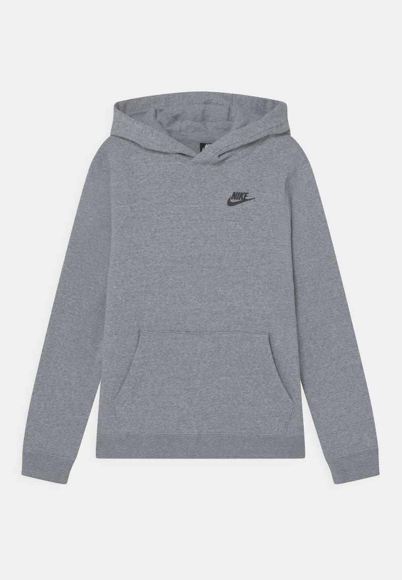 Nike Sportswear - REGRIND UNISEX - Jersey con capucha - obsidian/dark smoke grey