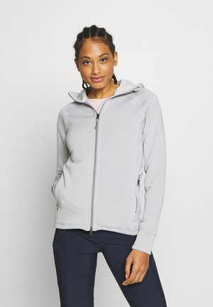 POWER AIR HOUDI - Zip-up hoodie - ground grey