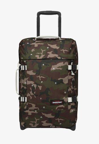 Wheeled suitcase - on top white