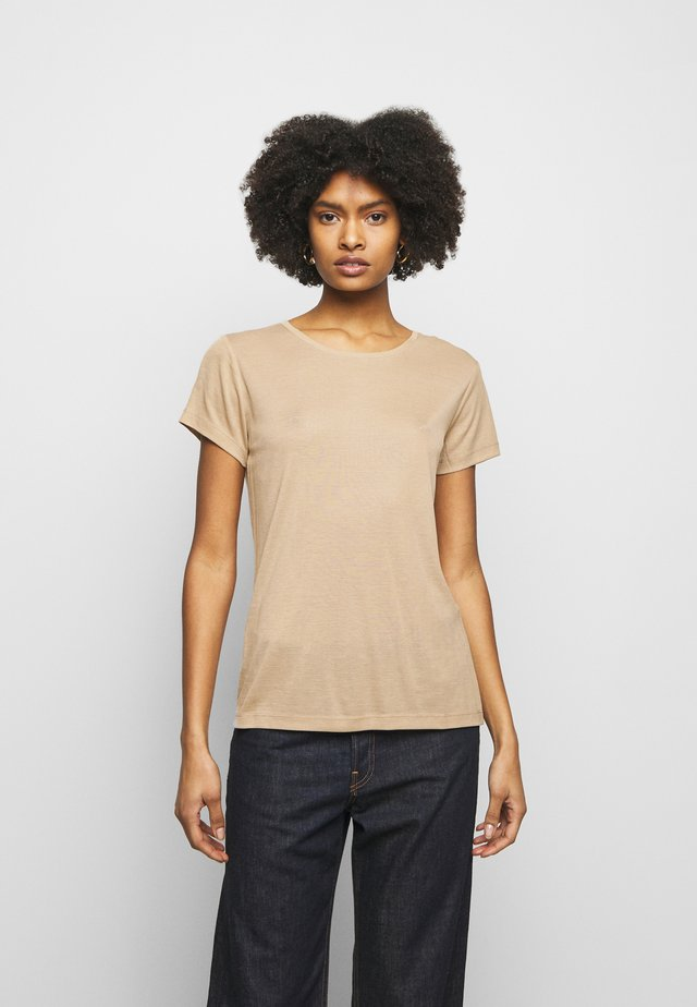 UPAMA - T-shirt basic - sand