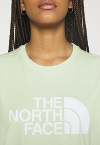 The North Face - EASY TEE - Printtipaita - green mist - 4