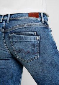 Pepe Jeans - HOLLY - Straight leg jeans - stone blue denim - 5
