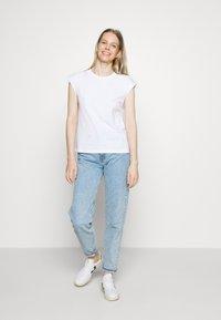 edc by Esprit - CORE EMBRO - Print T-shirt - white - 1