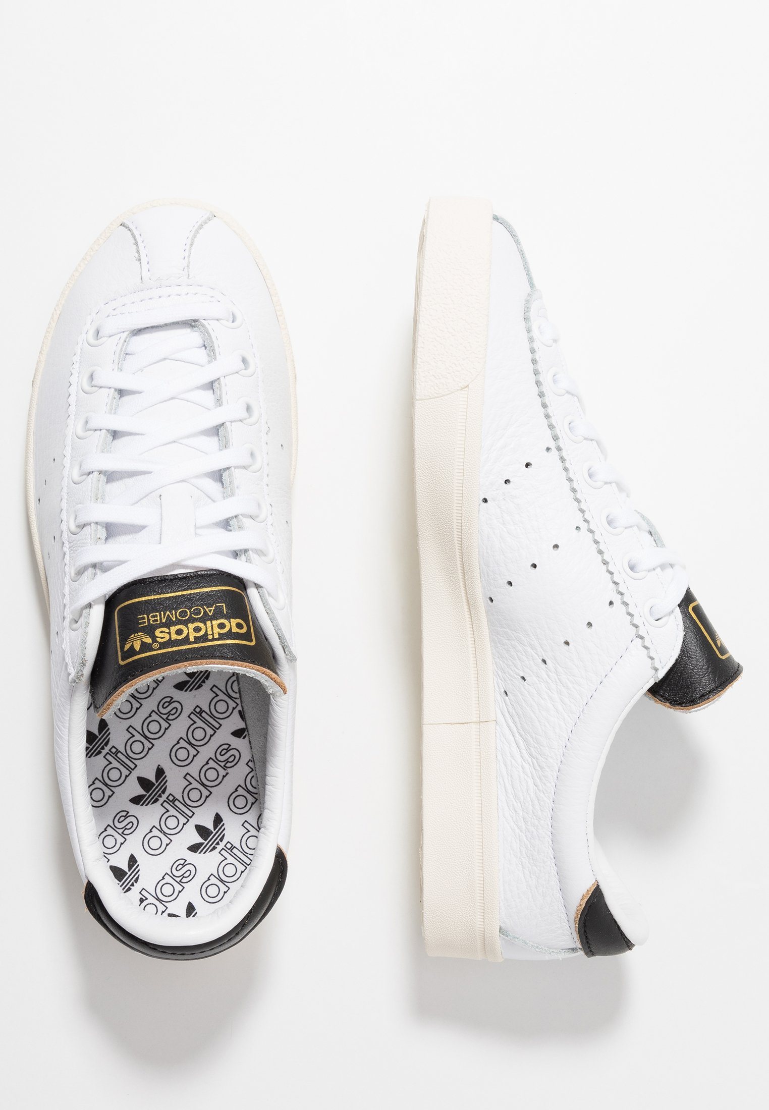 adidas Originals LACOMBE - Sneaker low - footwear white/core black/core white/weiß - Herrenschuhe 0TXyO