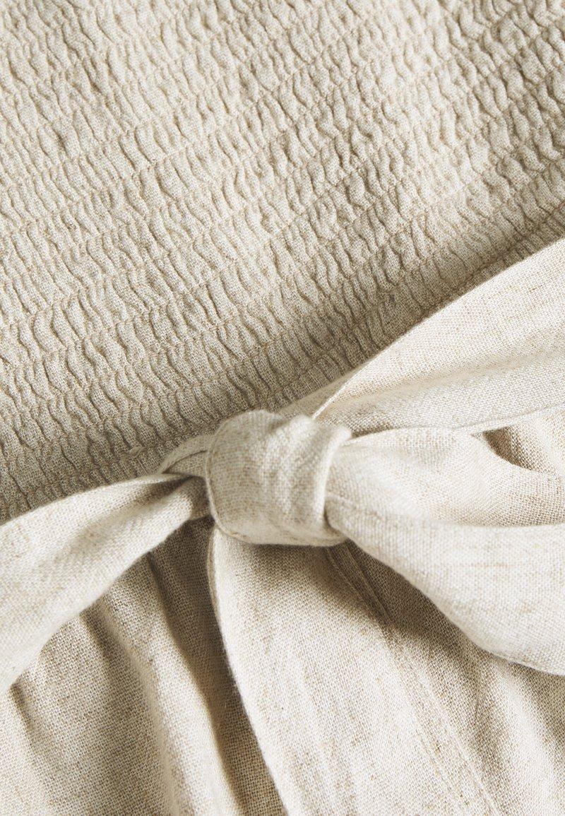 Abercrombie & Fitch SAFARI ROMPER - Jumpsuit - beige rOOudX