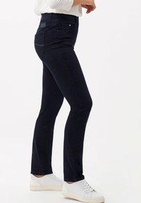 BRAX - STYLE LAVINA - Slim fit jeans - dark blue - 2