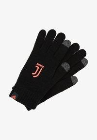 adidas Performance - JUVENTUS TURIN GLOVES - Gloves - black - 2