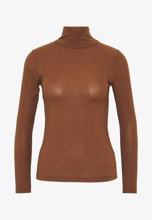 Bluzka z długim rękawem - brown
