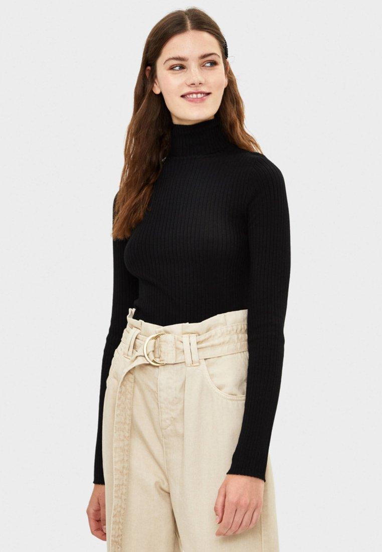 Bershka - Sweter - black