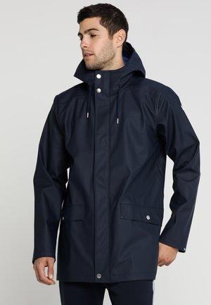 MOSS RAIN COAT - Vodotěsná bunda - navy