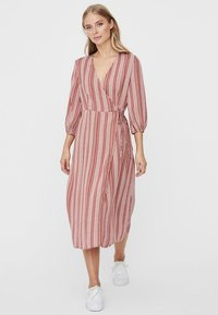 Vero Moda - Day dress - marsala - 0
