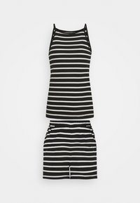 ONLY Tall - ONLMAY LIFE STRIPE SET  - Toppi - black/cloud - 0