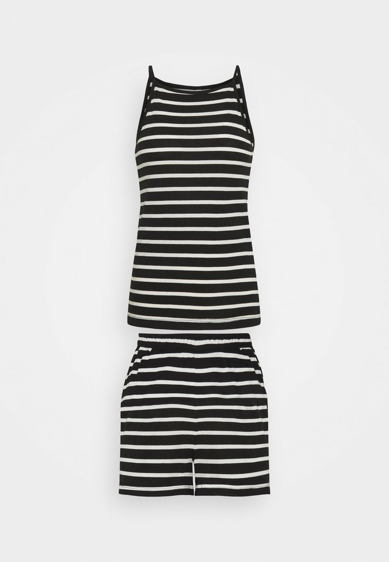 ONLY Tall - ONLMAY LIFE STRIPE SET  - Toppi - black/cloud