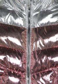 Friboo - Vinterjacka - rosegold metallic/silver metallic - 4