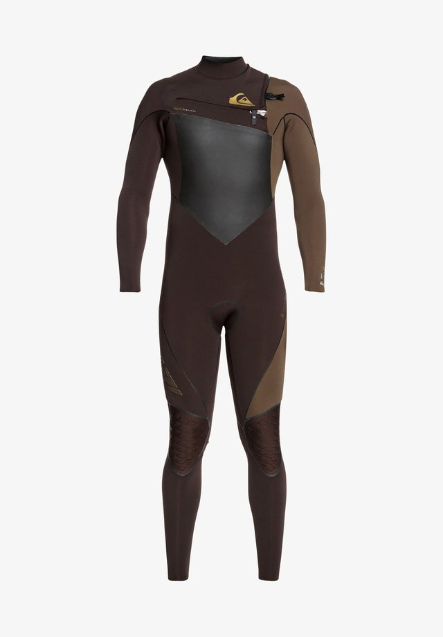 3/2MM HIGHLINE PLUS - Wetsuit - velvet brown/ dark beech