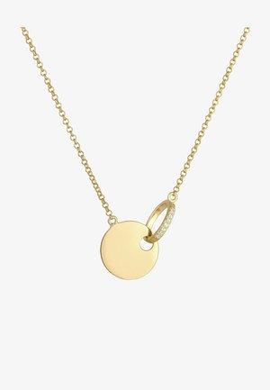 COIN CIRCLE - Kaulakoru - gold coloured