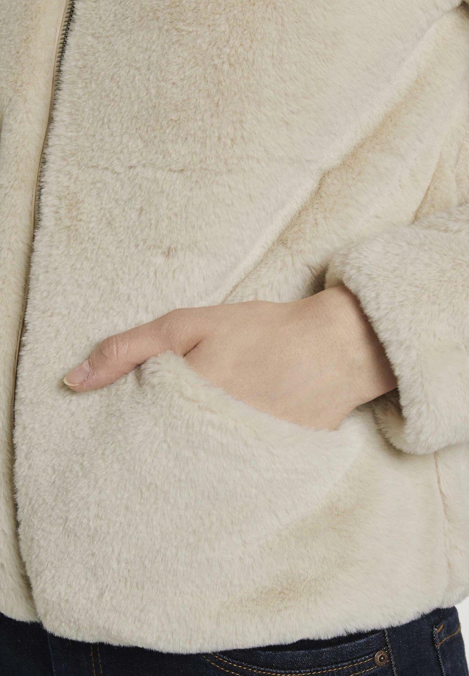 TOM TAILOR DENIM Winterjacke dusty beige/beige