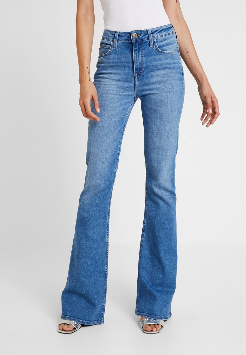 Lee - BREESE - Flared Jeans - jaded