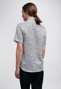 Eterna - Button-down blouse - weiss/braun - 1