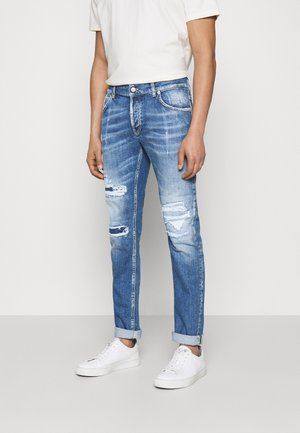 PANTALONE BRADY - Jeans Tapered Fit - blue