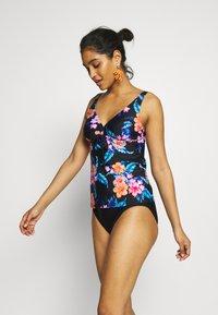 LASCANA - WIRE TANKINI LOA SET - Bikini - black - 1
