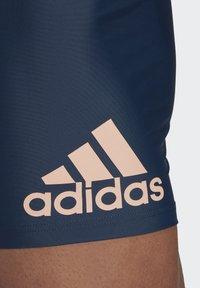 adidas Performance - BADGE SWIM FITNESS BOXERS - Swimming trunks - blue - 3