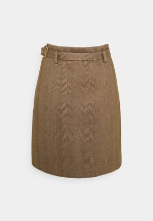 RUTH MINI SKIRT - Mini skirt - camel