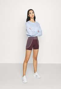 Missguided - SEAMLESS BOOTY - Shorts - burgundy - 1