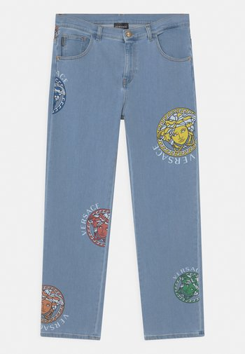 MEDUSE UNISEX - Relaxed fit jeans - blue/multicolor