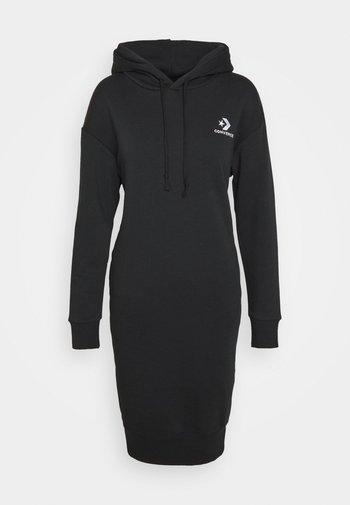 STAR CHEVRON DRESS - Kjole - black