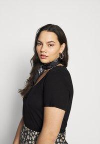 Anna Field Curvy - T-shirts - black - 3