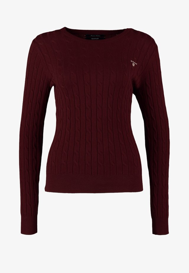 CABLE CREW - Stickad tröja - bugendy