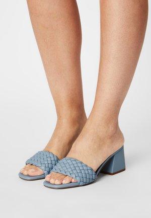 ASPYN - Slip-ins med klack - slate blue