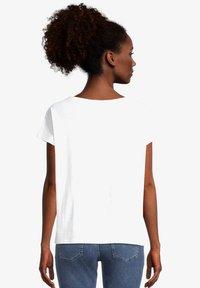 Cartoon - Print T-shirt - white gold - 2