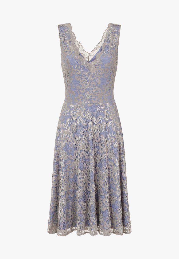 FLORAL - Cocktailkleid/festliches Kleid - silver