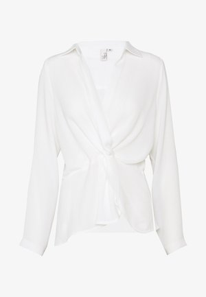STRUCTURE KNOT - Blusa - white
