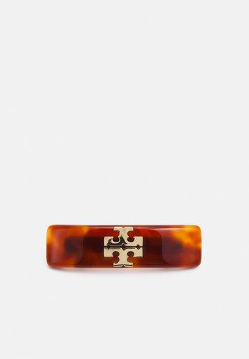 KIRA SMALL BARRETTE - Accessori capelli - gold-coloured/tortoise