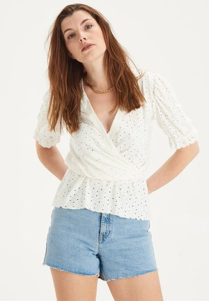 FINA TOP - Blouse - white
