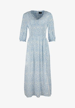 TWO TONE BLOOM - Day dress - blue