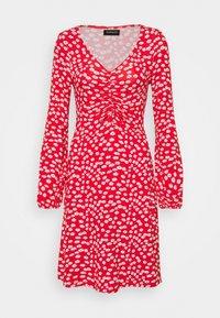 Even&Odd - Vestido ligero - red/white - 4
