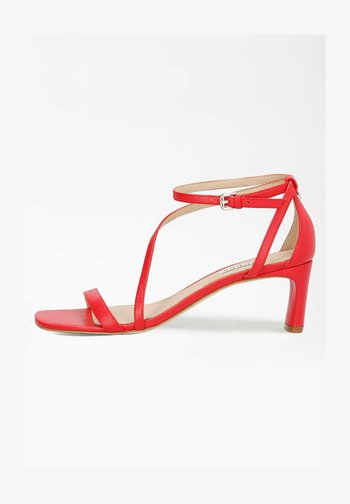 SELBY - Sandals - rot