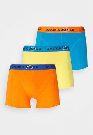 JACSMILE TRUNKS 3 PACK - Pants - blue jewel/exotic orange
