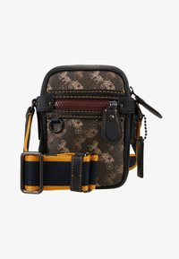 Coach - DYLAN 10 IN HORSE AND CARRIAGE - Sac bandoulière - black/brown - 1