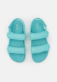 ALDO - EOWILIWIA - Platform sandals - turquoise - 5