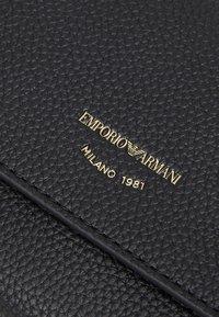 Emporio Armani - MYEA FOGLIO CONTINENTAL - Wallet - black - 4