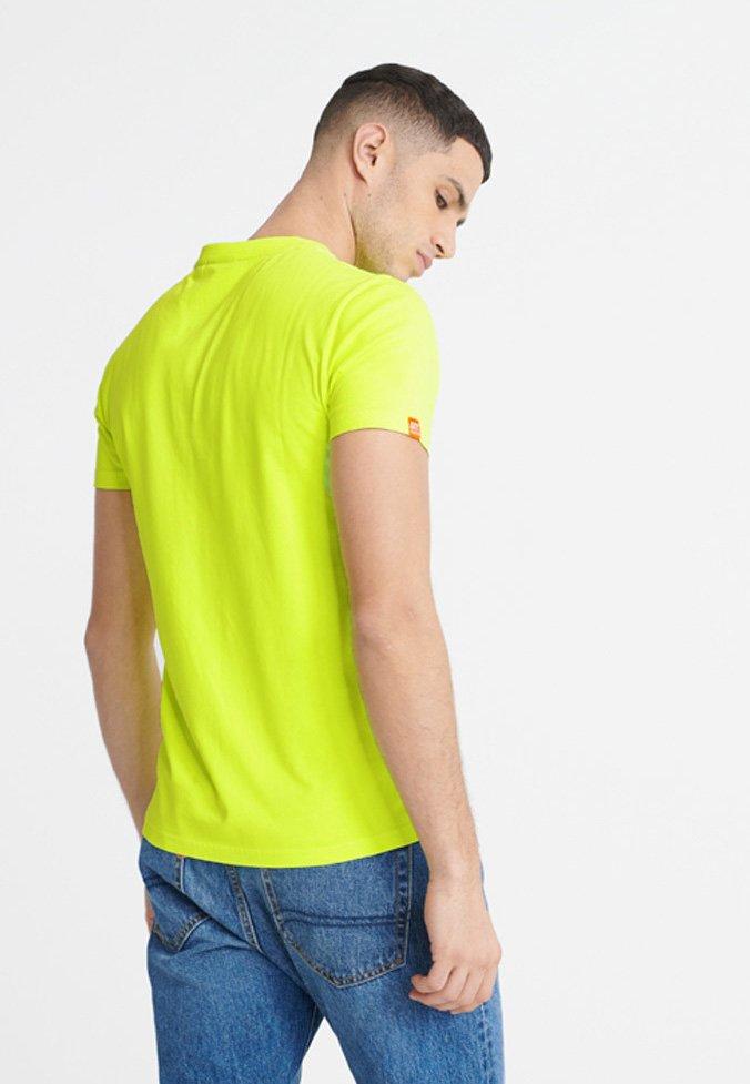 Superdry NEON LITE TEE - T-Shirt basic - neon yellow/gelb OeibJt