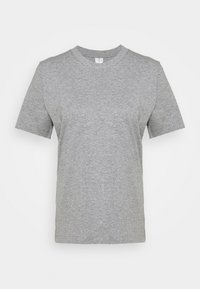 T-SHIRT - Basic T-shirt - grey medium dusty
