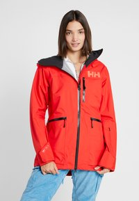 Helly Hansen - KVITEGGA SHELL JACKET - Snowboardjakke - alert red - 0