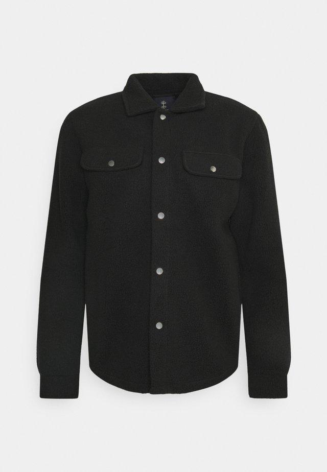 POMPEY - Koszula - black