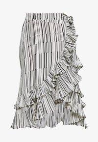 RILL - Áčková sukně - white sugar